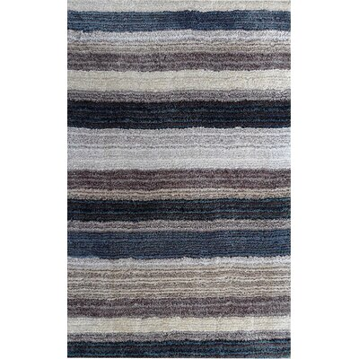 nuLOOM Cine Blue Multi Striped Rug