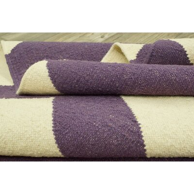 nuLOOM Moderna Purple Chevron Rug