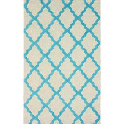 nuLOOM Moderna Turquoise Moroccan Trellis Rug