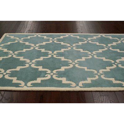 nuLOOM Moderna Light Blue Trellis Rug