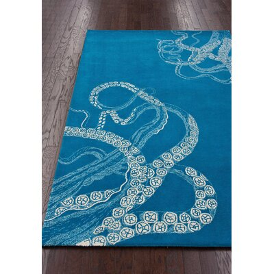 nuLOOM Metro Blue Waters Octo Rug