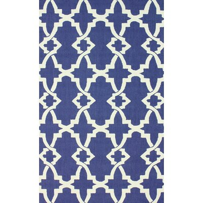 nuLOOM Trellis Regal Blue Alice Rug