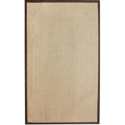 nuLOOM Natura Brown Herringbone Rug