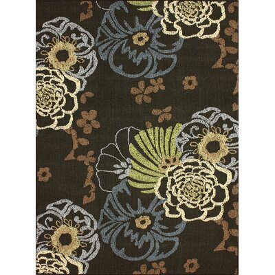 nuLOOM Pop Dark Brown Capri Rug