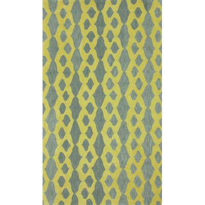 Brilliance Yellow Hannah Plush Rug