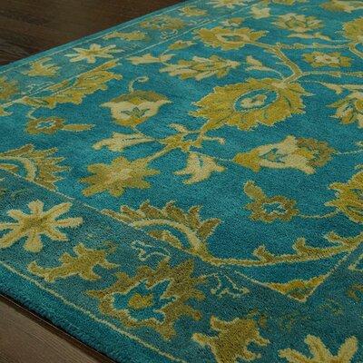 nuLOOM Overdye Turquoise Overdyed Rug