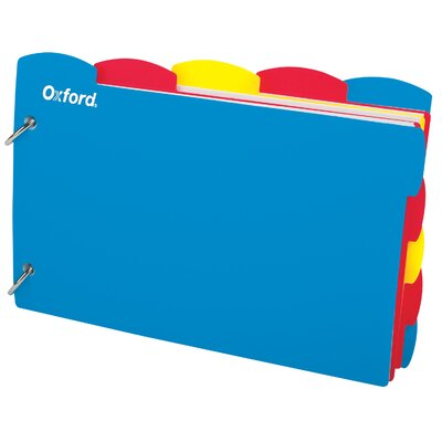 Oxford® Just Flip It Note Card Organizer