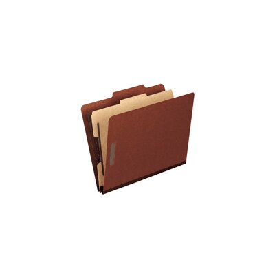 Pendaflex® Pressboard Classification Folders with Six-Section