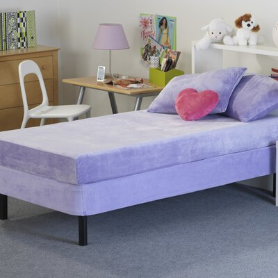 Memory Foam Kidz Kids Memory Foam Mattress with Water Proof Cover in Lavender