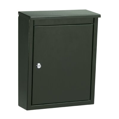 Architectural Mailboxes Soho Powder Coated Wall Mounted Mailbox