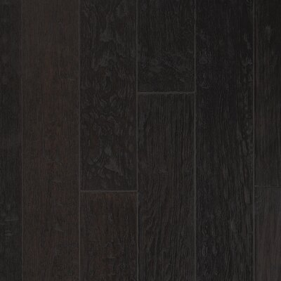 "CFS Flooring Rio Handscraped 4-9/10"" Engineered Oak Flooring in Espresso Bin"