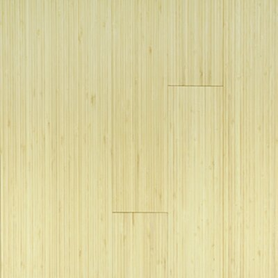 "Forest Valley Flooring Premium Green 3-3/4"" Solid Bamboo Flooring in Natural Vertical"