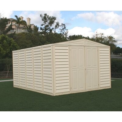 Duramax Building Products WoodBridge Vinyl Storage Shed