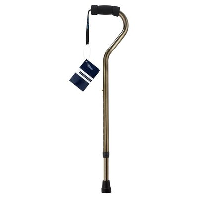 SkyMed Stainless Steel Bariatric Walking Cane in Bronze