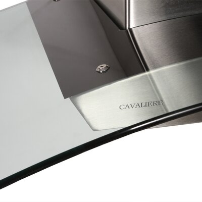 "Cavaliere Stainless Steel 36"" x 20"" Wall Mount Range Hood with 900 CFM"
