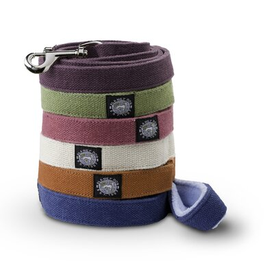 Planet Dog Cozy Hemp 5' Dog Leash with Fleece Handle