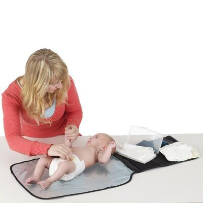 Jeep Baby Products Deluxe Changing Pad with Wipes Case