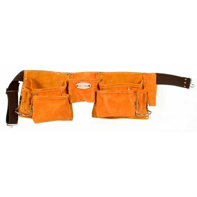 Suede Leather 11 Pocket Carpenter's Tool Belt