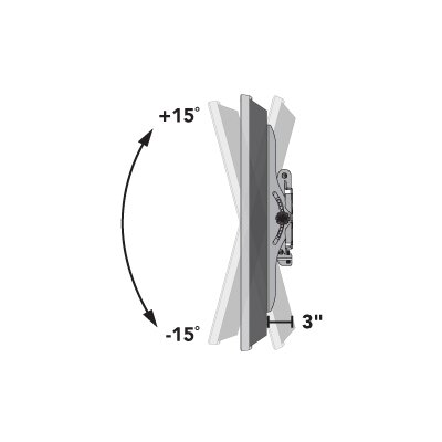 "Sanus Classic Series Tilting Wall Mount for 32"" - 70"" Flat-Panel TVs"