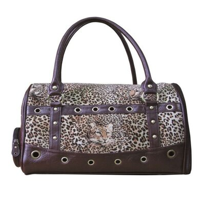 Leopard Skin Handbag Pet Carrier