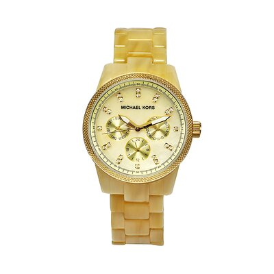 Michael Kors Women's Jet Set Watch in Champaigne