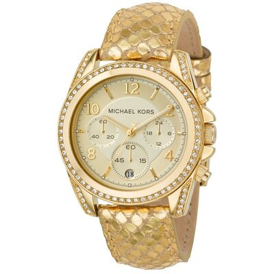 Michael Kors Women's Glitz Watch in Gold