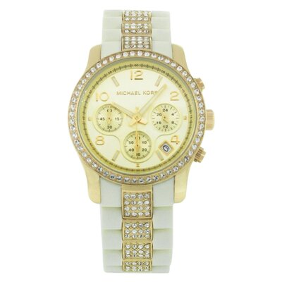 Michael Kors Women's Runway Plastic Strap Watch