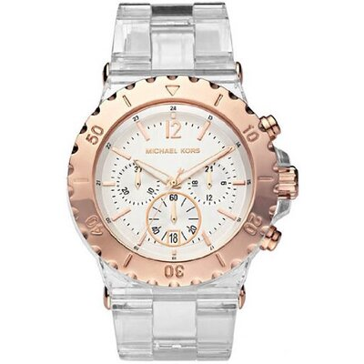 Michael Kors Women's Bel Aire Acetate Bracelet Watch