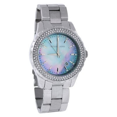 Women's Glitz Watch with Mother of Pearl Dial