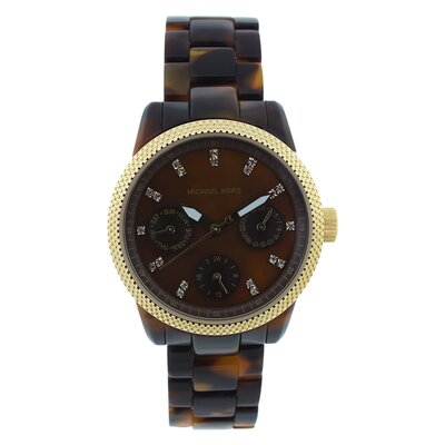 Michael Kors Women's Ritz Watch with Brown Dial
