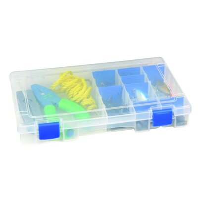 Flambeau Tuff Tainer Storage Box with Four Compartments