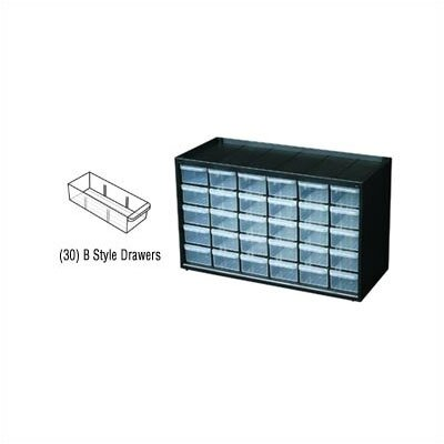 Flambeau Parts-Station 30 Drawer Plastic Parts Cabinet