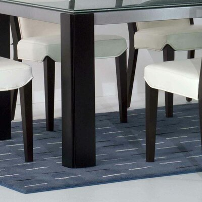 Star International Veronica Dining Table with Crackle Glass