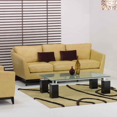 Star International Penthouse Leather Loveseat
