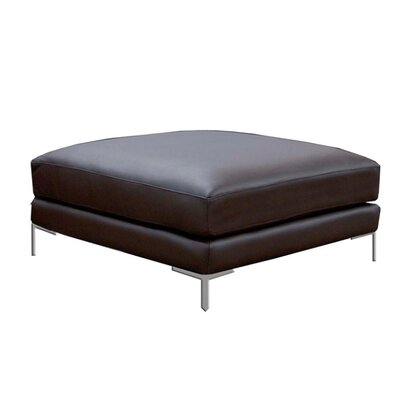 Star International Domicile Leather Loft Ottoman