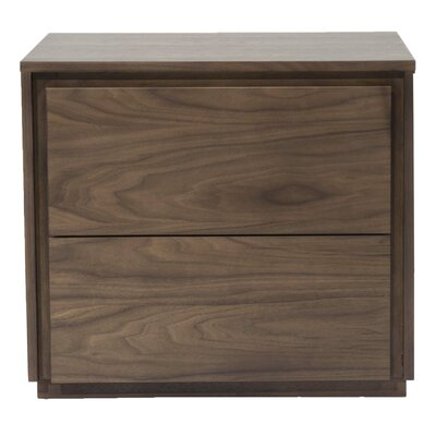 Star International Latitude 2 Drawer Nightstand