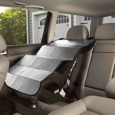 Parent Units Sun Shield Baby Car Seat Cover
