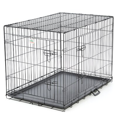 Two Door Folding Pet Crate