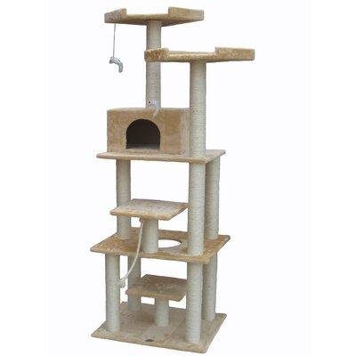 "Go Pet Club 76"" Cat Tree"
