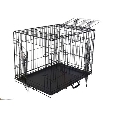 Go Pet Club 3-Door Metal Dog Crate