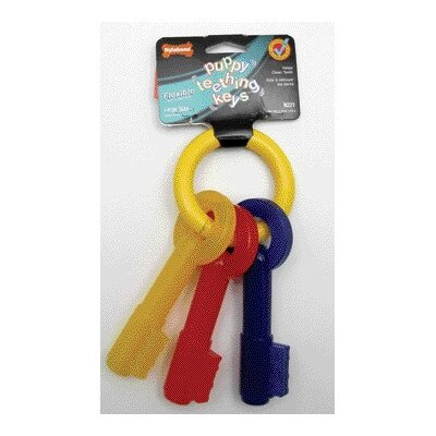 Nylabone Puppy Teething Keys Dog Chew Toy