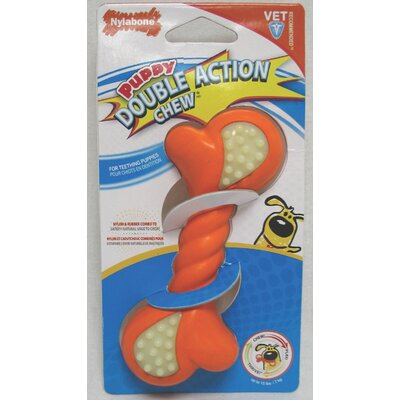 Puppy Double Action Dog Chew Toy
