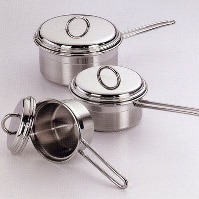 Le Pentole Saucepans with Lids 6 Piece Set