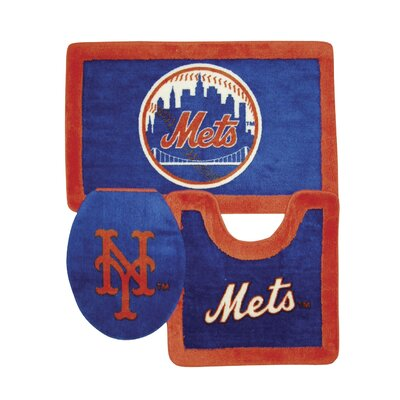 Championship Home Accessories MLB 3 Piece Bath Rugs