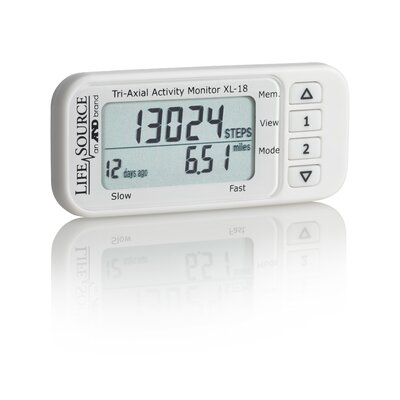 Lifesource Digital Tri-Axial Activity Monitor