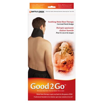 Battlecreek Good to Go Cervical/Pelvic Microwave Moist Heat Pack