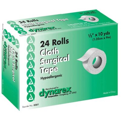 "Dynarex Corporation Surgical ""Silk"" Cloth Tape"