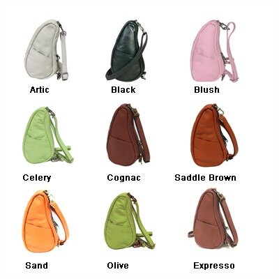 AmeriBag Healthy Back Bag® Small Classic Leather Tote Bag
