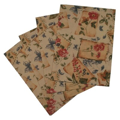 European Garden Design Placemat (Set of 4)