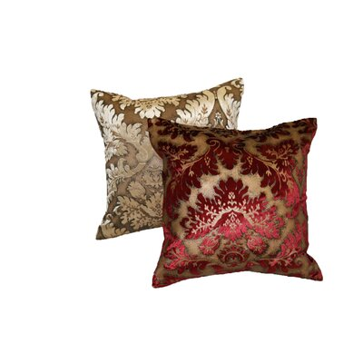 Violet Linen Royal Velvet Decorative Throw Pillow